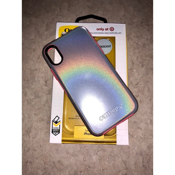 online retailer 9607a d5e27 iPhone X Iridescent Exclusive Otter box